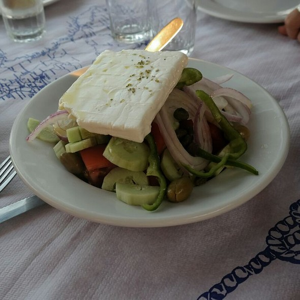 Greek Salad @ Chios