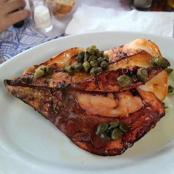 Grilled Calamari @ Chios