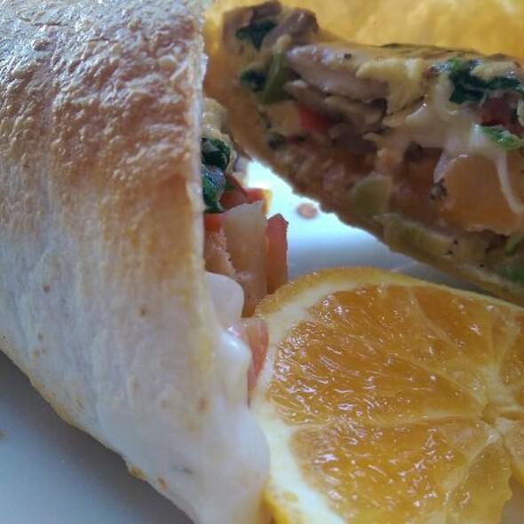 Vegetarian Breakfast Wrap @ Republic Of Pie