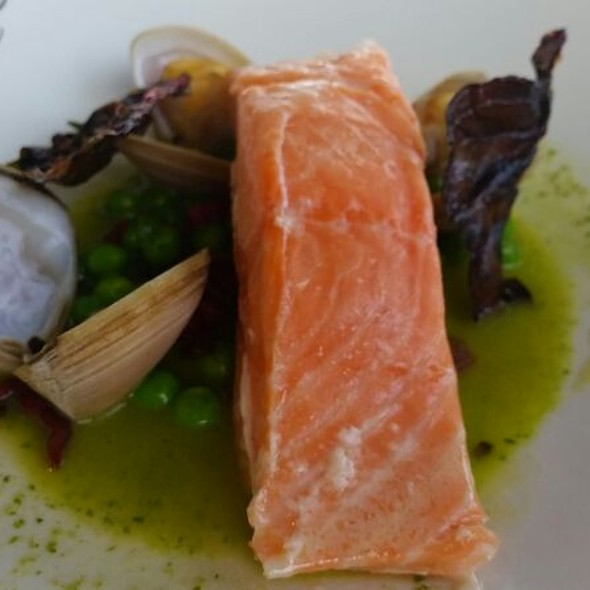 Salmon Confit With Clams @ Maxim's