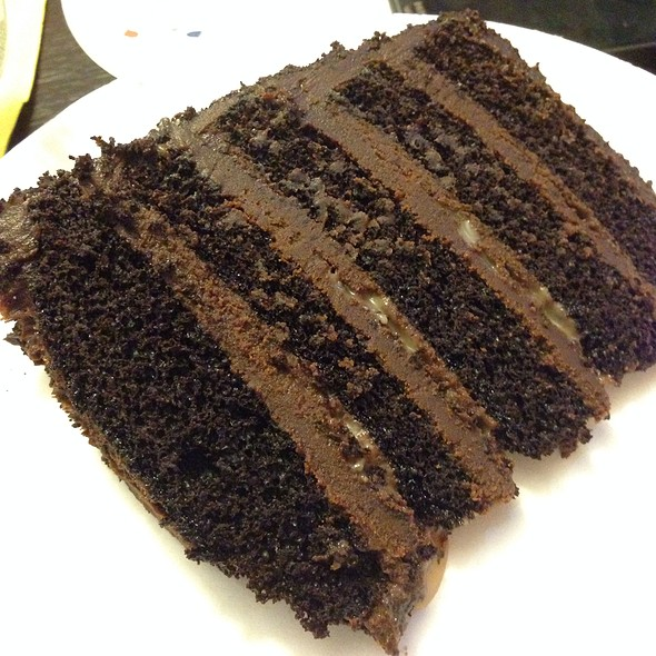 Lucca's 5-Layer Chocolate Cake @ Lucca