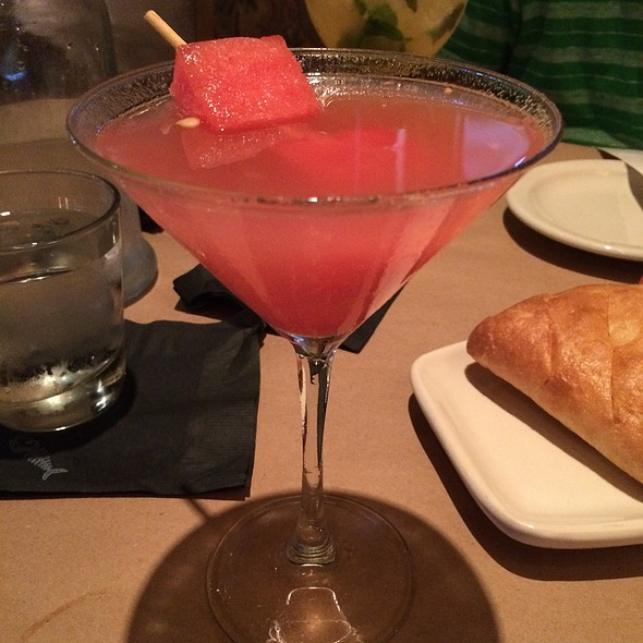 Fresh Watermelon Icicle Aphrodisiac Martini @ Bonefish Grill