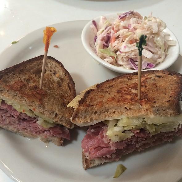 Reuben Sandwich @ Saul's Restaurant & Deli