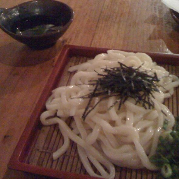 Cold Udon Noodles @ Kenka