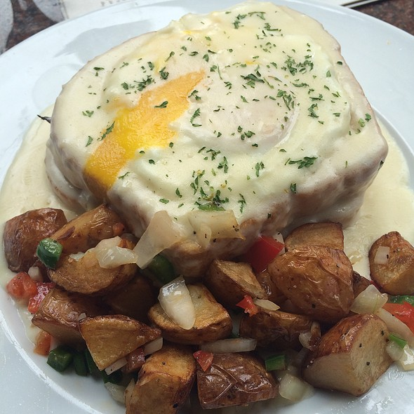 Croque Madame - Marie Louise Bistro, Baltimore, MD