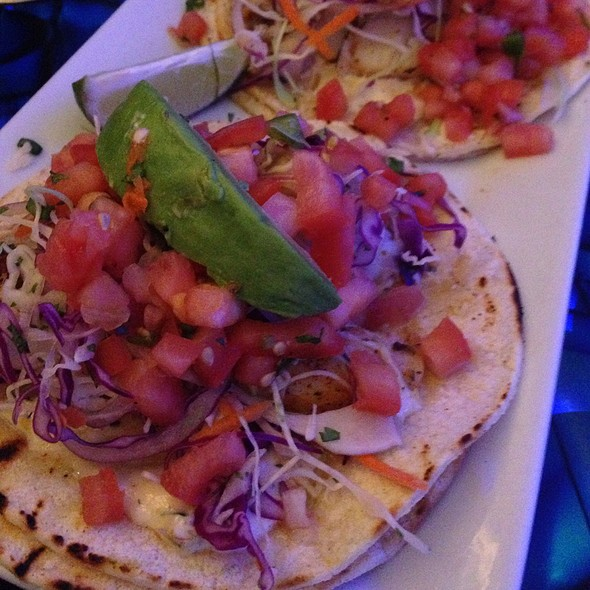 fish tacos @ The Oceanaire Seafood Room