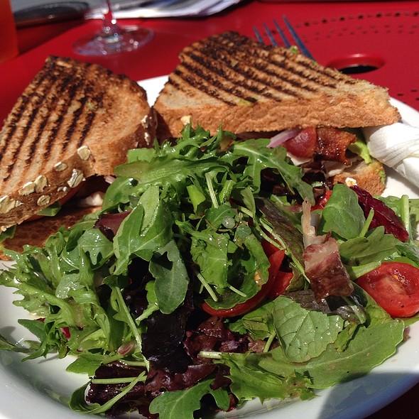 Turkey Club And Salad