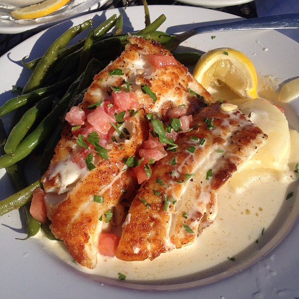 Cod With Scalloped Potatoes And Fresh Green Beans (Gluten  Free)