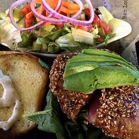 Sesame Tuna Sandwich - Bar Louie - Minnetonka