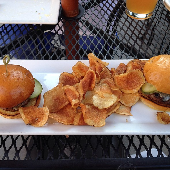 Cheese Burger Sliders - Barlow's Restaurant, Boston, MA