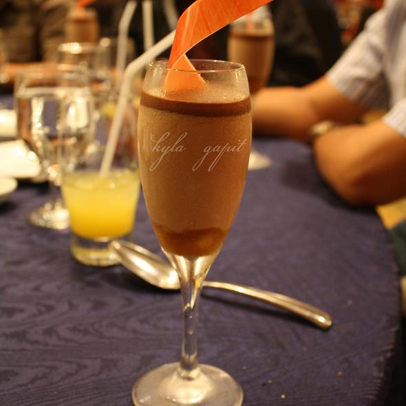 Chocolate Banana Mousse @ EDSA Shangri-La Hotel