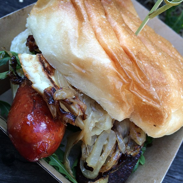 Brunch Burger @ The Grounds of Alexandria