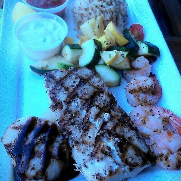 Seafood Trio - The Reef of St. Augustine, St. Augustine, FL