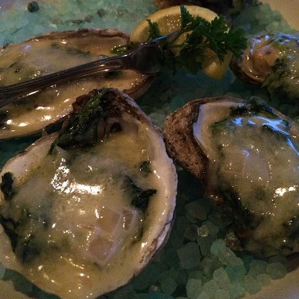 Oysters Rockefeller - Chart House Restaurant - Newport (Cincinnati), Newport, KY