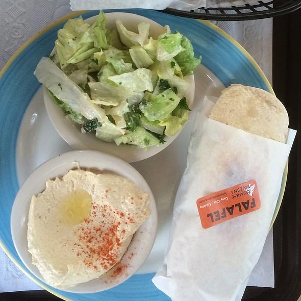 Falafel Sandwich @ Lebanese Taverna Cafe - Silver Spring