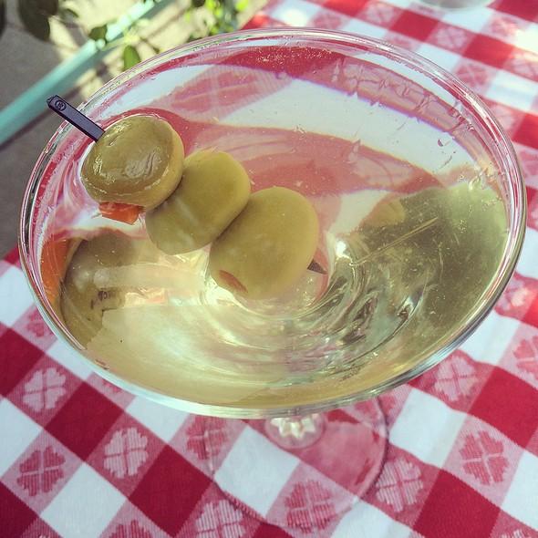 Dirty Vodka Martini @ Buck's Fishing & Camping