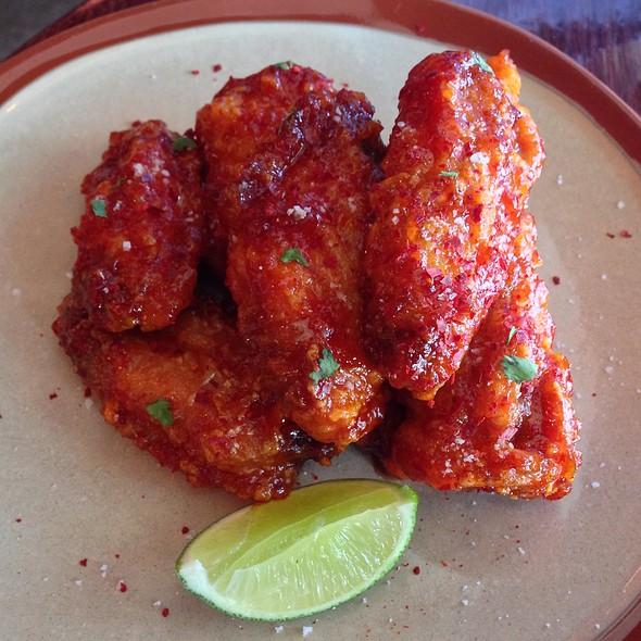 Fire & Honey Chicken Wings - Golden Beetle, Seattle, WA
