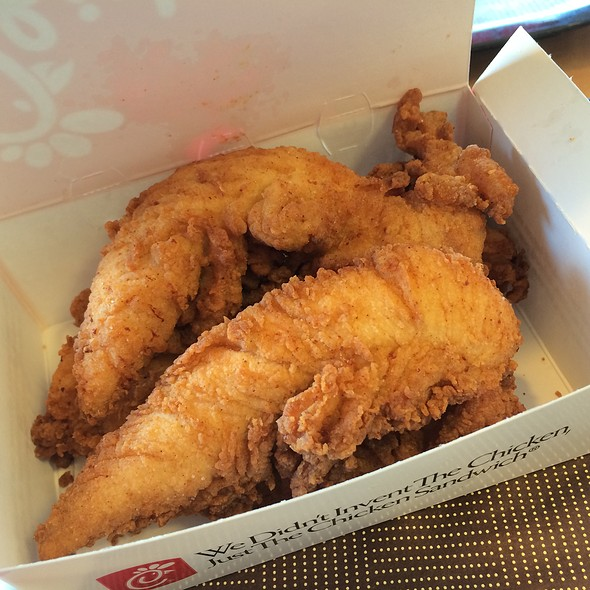 Chicken Strips @ Chick-fil-A