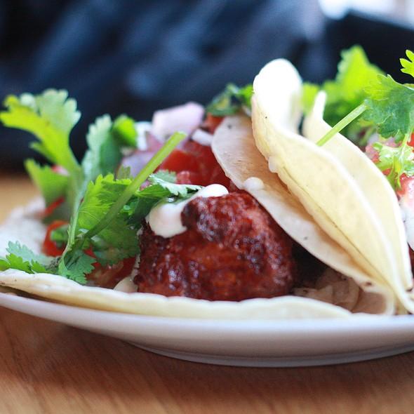 Vegetarian taco @ Mule Bar