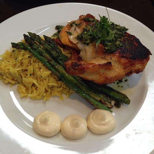 Chicken A La  Plancha  @ Catal Restaurant & Uva Bar