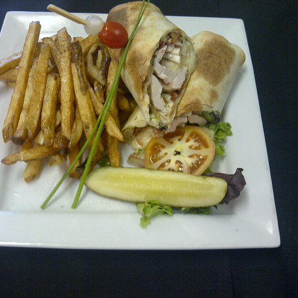 Chicken and Brie Wrap - Ryan Duffy's, Halifax, NS