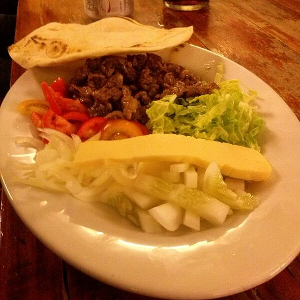 Shawarma On Plate @ Persian King Kabab