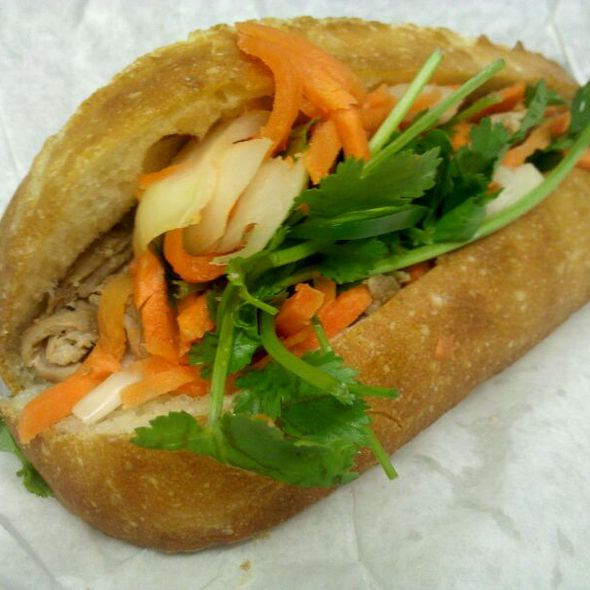 Roasted Pork Bahn Mi