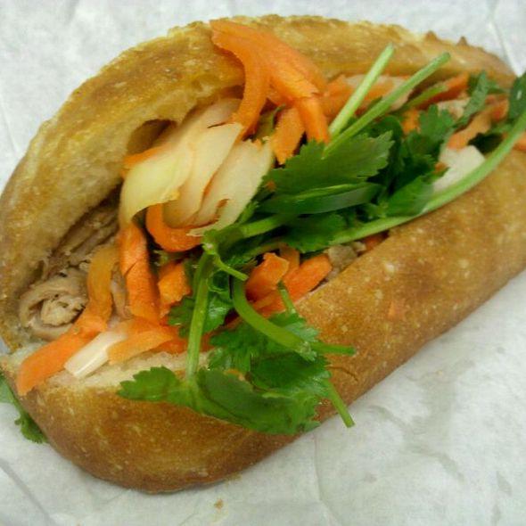Roasted Pork Bahn Mi @ Saigon Sandwich