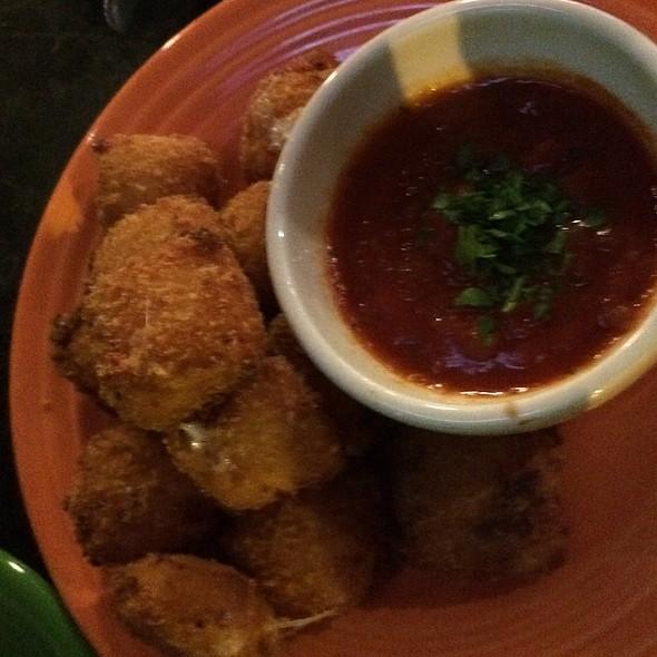Crispy Fried Mozzarella Squares @ Sport Restaurant & Bar