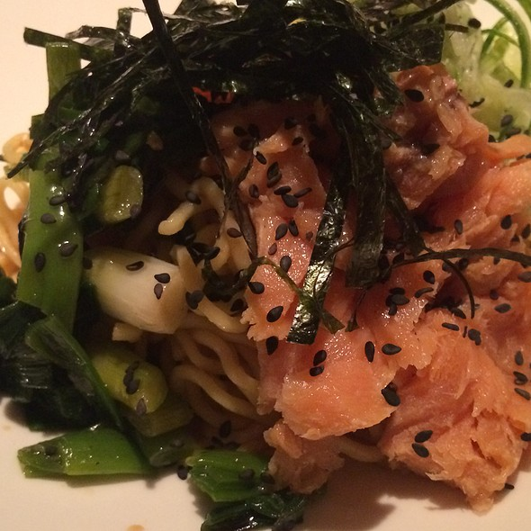 Cold Ramen With Salmon