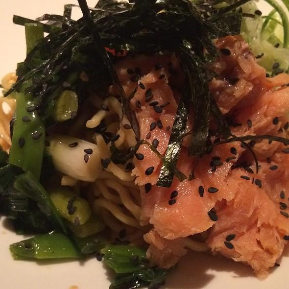 Cold Ramen With Salmon @ Biwa