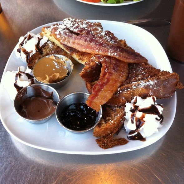 Not French Toast @ Square Root Cafe