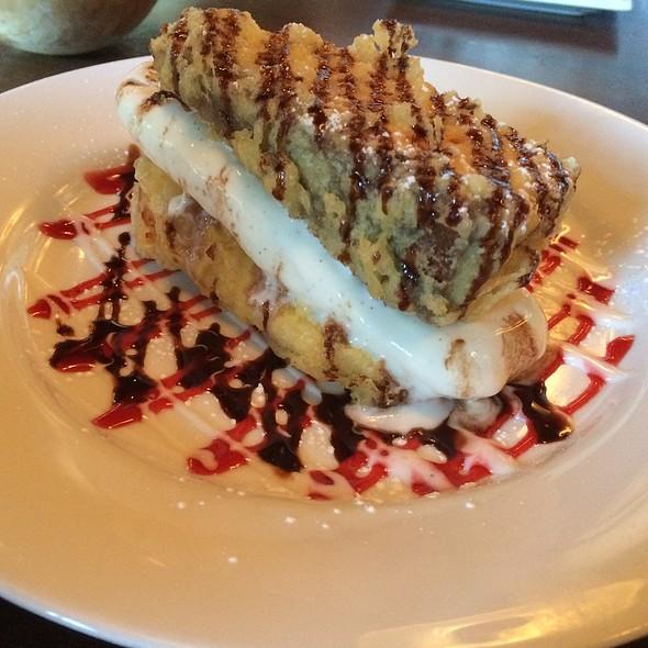 Tempura Cheesecake! - Seito Sushi, Orlando, FL
