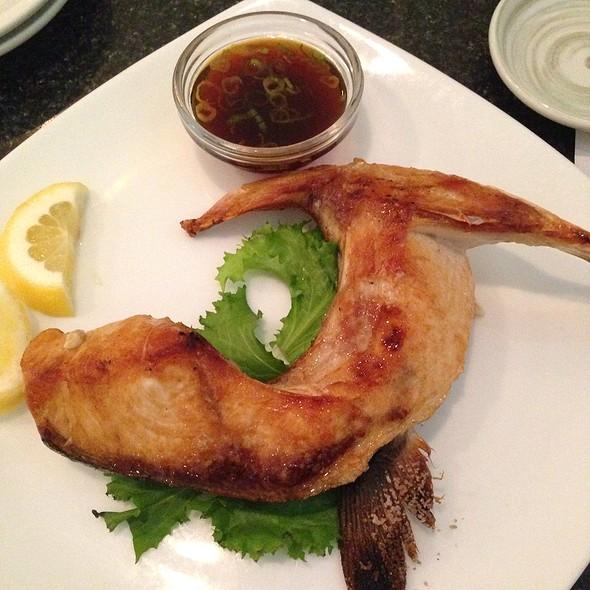 Hamachi Kama @ Blue Fin Sushi Bar