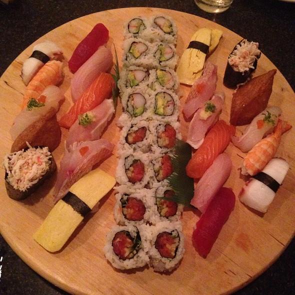 Lazy Susan Sushi Asst. @ Blue Fin Sushi Bar