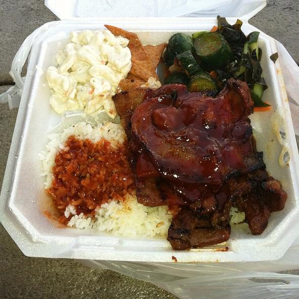 3. Spicy Pork @ Bar B Que 99 (Moanalua 99 Shopping Center)