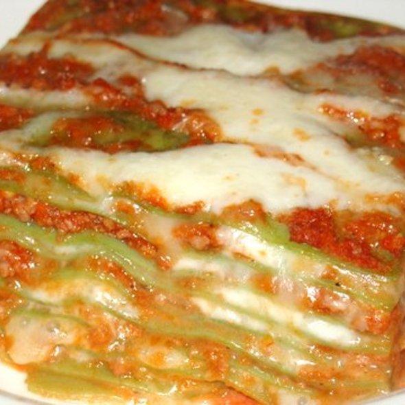 Lasagne Verdi Bolognese - Biba Restaurant, Sacramento, CA