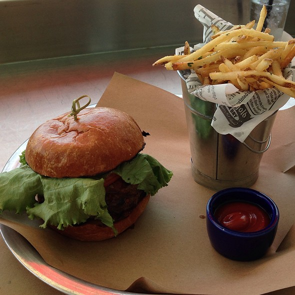 Chili Burger With Duck Fat Fries @ Atlantic Surf Club