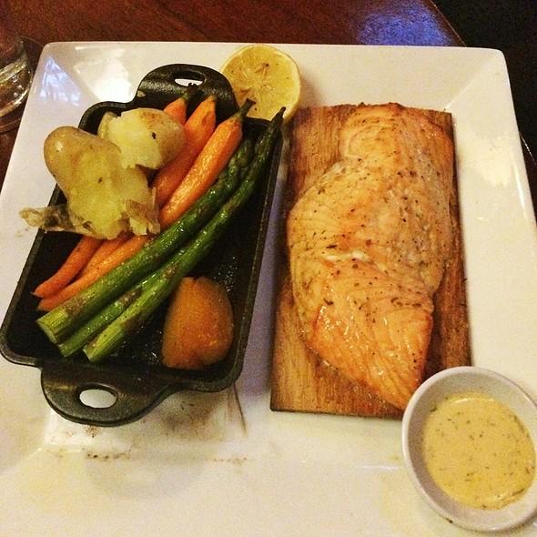 Cedar Plank Salmon - Seasons 52 - Altamonte Springs, Altamonte Springs, FL