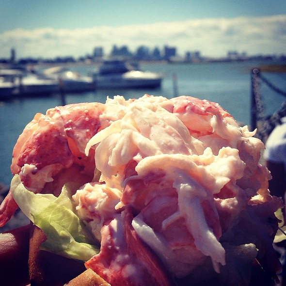 Lobster Roll (Sandwich) @ Belle Isle Seafood