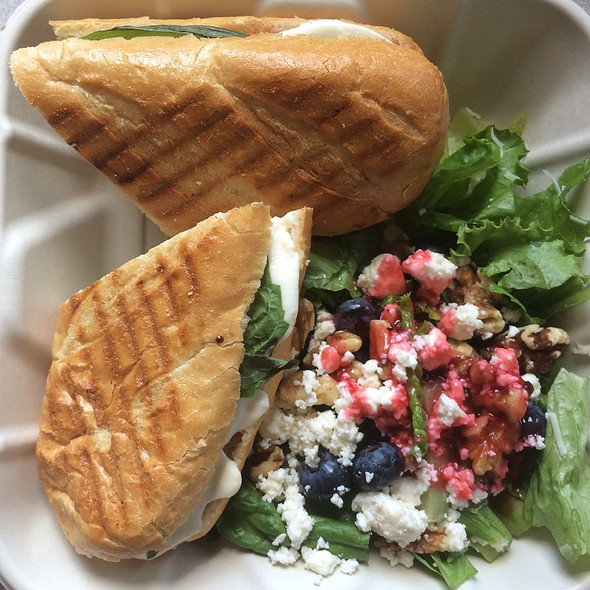 Caprese Panini @ US Department of Health & Human Services