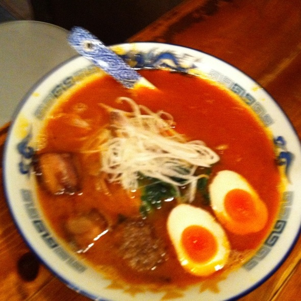 Spicy Ramen @ 大雪軒 新百合ヶ丘サティ・ビブレ店