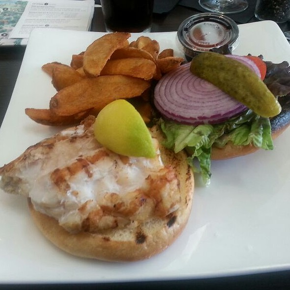 Grilled grouper Sandwich @ Treviso Restaurant
