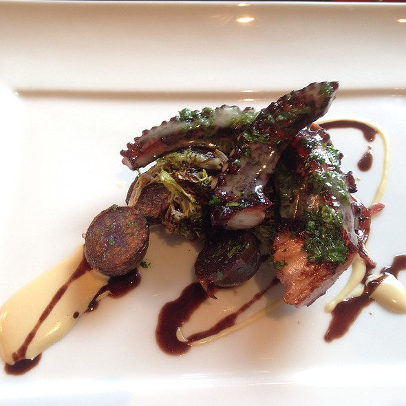 Chargrilled Octopus @ Marea