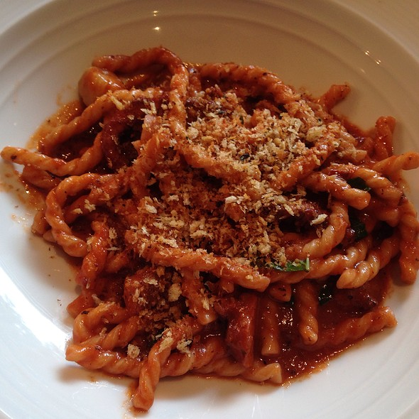 Fusilli With Red Wine Braised Octopus And Bone Marrow @ Marea