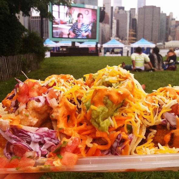 Fish Tempura, Kimchi Falafel, & Veggie Tacos