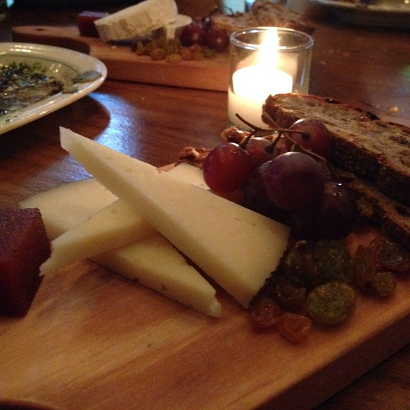 Manchego Cheese Tapas @ Barraca