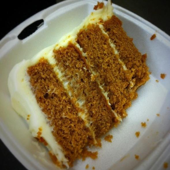 Sweet Potato Cake @ Mert's Heart and Soul