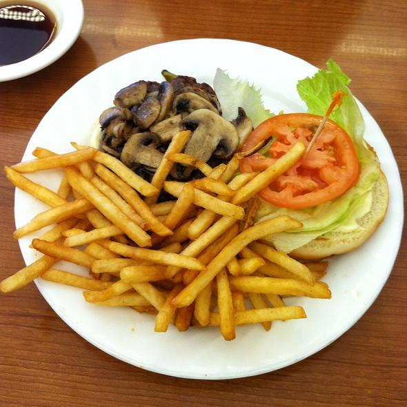 Prime Teriyaki Burger @ Zippy's Wahiawa
