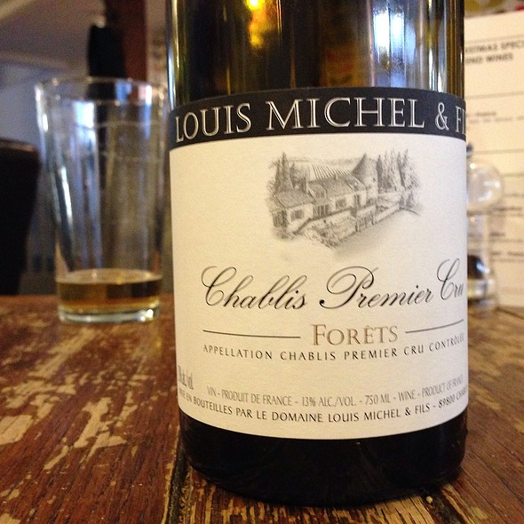 Chablis Premier Cru Louis Michel & Fils @ The Angel Pub
